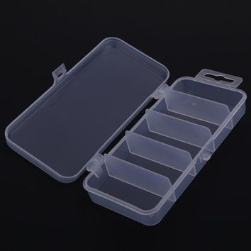 Transparent Plastic Fishing Lure Bait case storage organizer containers fishing lure tackle