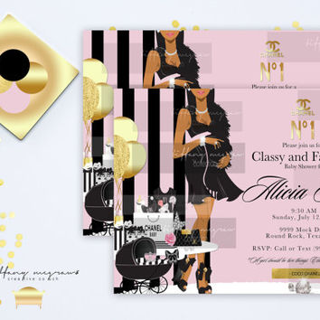 A Classy and Fabulous Baby Shower
