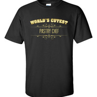 Worlds Cutest PASTRY CHEF - Unisex Tshirt