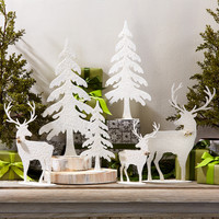 Woodland Wonderland Glittery Tabletop Decorations
