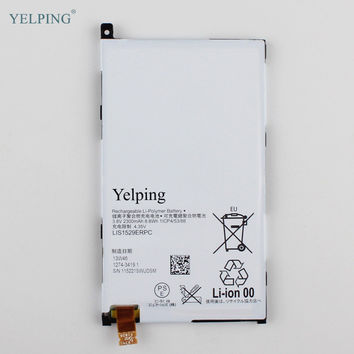 Yelping LIS1529ERPC Phone Replacement Battery For Sony Xperia Z1 mini D5503 Xperia Z1 Compact M51w Built-in Battery 2300mAh