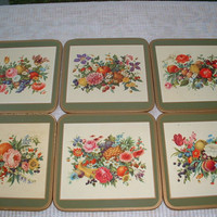 Vintage Pimpernel Coasters Original  from United Kingdom, Great to protect your furniture