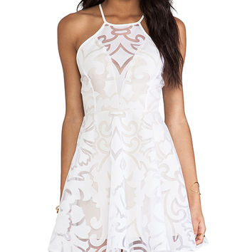 keepsake Romantic Rebel Dress in White