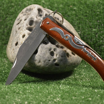 Folding Okapi Pocket Knife, Lock Knife, Trade Mark Made in South Afrika, Okapi Moon&Stars, Not Original, New