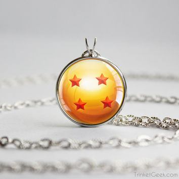 DBZ pendant Four Star Dragon Ball