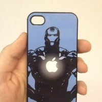 (146bi5) Iron Man Chest Apple iPhone 5 Black Case