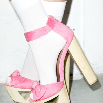 Qupid Bow Down Lakie Heels