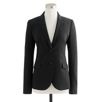 J.Crew Womens 1035 Two-Button Jacket In Italian Stretch Wool