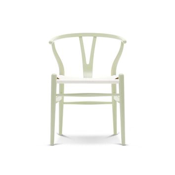 Wegner Wishbone Chair | Lacquered Colors | White Papercord