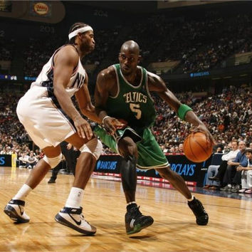 sports basketball kevin garnett boston celtics new jersey nets 5 Sizes Home Decoration On Canvas Poster HD Print Picture