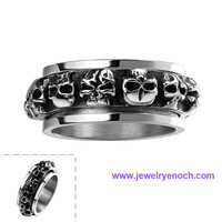 China Supplier Eco-friendly Winded Stainless Steel popular fashion ring in europe
