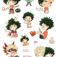 Boku no Hero Academia Sticker [PRESALE]