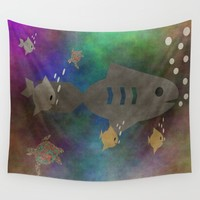 Under The Sea Wall Tapestry by Kathleen Sartoris