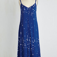 Long Sleeveless Shift Splatter of Fact Dress by ModCloth