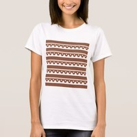 Rustic Western Tribal Pattern T-Shirt