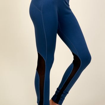 Get The MESHage Leggings Denim