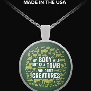 Vegan Tomb Necklace vtombn
