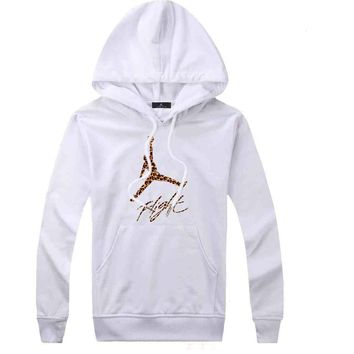 Jordan Women Men Fashion Casual Top Sweater Pullover Hoodie-5