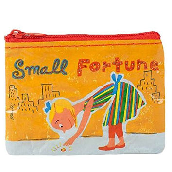 Blue Q Recycled Coin Purse - Small Fortune