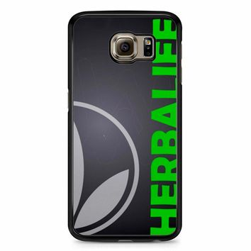 Black Herbalife Samsung Galaxy S6 Case