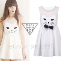 Kawaii Kitty Cat Dress from Blacksheep