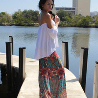 African Dashiki Tribal Traditional Print High Waisted Baggy Wide Leg Palazzo Pants for Ftness Outfits