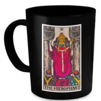 The Hierophant Tarot Card Coffee Cup Mug hierophantmug