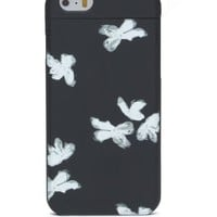 UNSMILEY PAINTED FLOWER MIRROR IPHONE 6 CASE