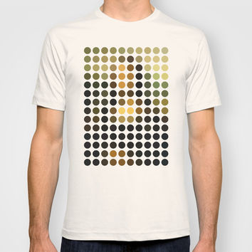 Mona Lisa Remix (2009) T-shirt by Gary Andrew Clarke