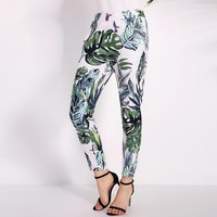 Brand Boho Summer Women Floral Print Pants Ladies Casual