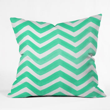 Rebecca Allen The Tiffany Throw Pillow