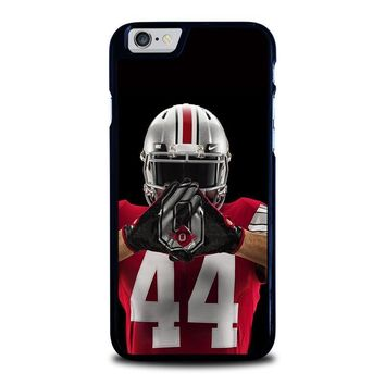 ohio state buckeyes football iphone 6 6s case cover  number 1