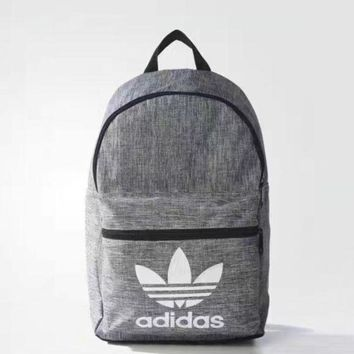 LMFON1O Day First Gray Adidas Fashion Sport School Shoulder Bag Travel Bag Laptop Backpack