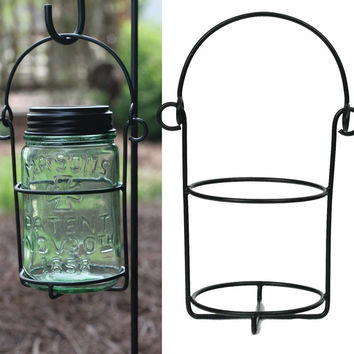 Mason Jar Hanging Caddy - Pint - Set Of 2 - *FREE SHIPPING*