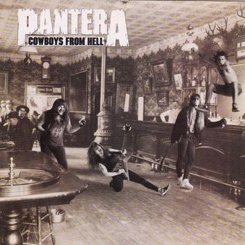 Pantera - Cowboys From Hell - Used CD