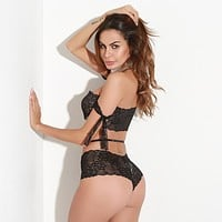 Hot Deal On Sale Cute Underwear Autumn Hot Sale Sexy Lace Set Exotic Lingerie [13244366851]