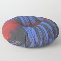 Sunset Melodic Floor Pillow by duckyb
