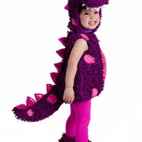 Princess Paradise Baby Girls' Premium Paige The Dragon, Purple/Pink, 6-12 Months