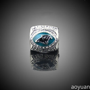 aoyuan Championship rings,2003 Carolina Panthers Americas champions ring, sports fans rings, me