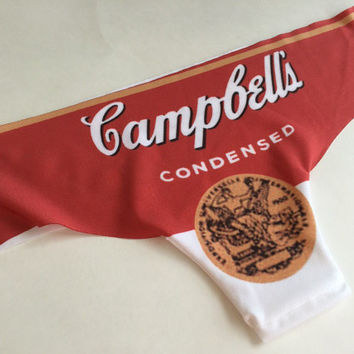 Andy Warhol's Campbell's Soup Cheeky Panties