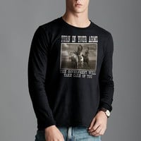 Turn In Your Arms The Government Will Take Care Of You Long Sleeve T-Shirt
