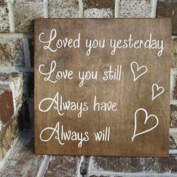 Best Anniversary Wood Signs Products On Wanelo