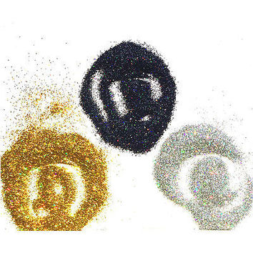 3 colors/lot Holographic Nails Glitter Fine Dust Magic Iridescent Nail Body Art Mermaid Effect Powder Laser Gold/black/silver