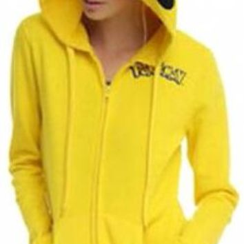 Pokemon Girls Hoodie - Pikachu Costume