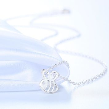 New Cute Animal Bumble Bee Necklace available in Gold & Silver