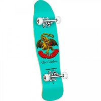 Powell Peralta Skateboards Micro Caballero Dragon II 5 Complete Skateboard Turquoise 8x29.5