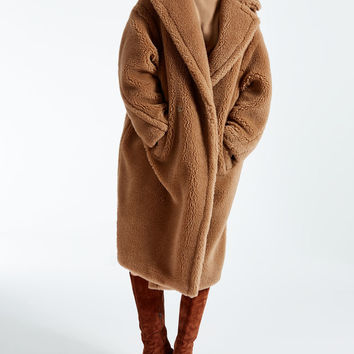 Teddy Bear Icon Coat, camel - AURELIA Max Mara