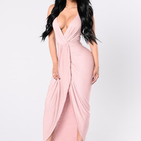 Tell Me How To Love Dress - Blush