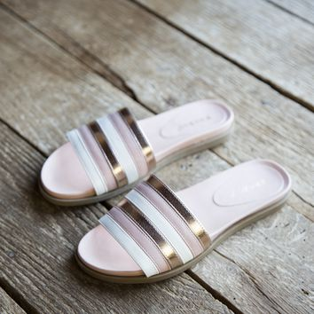 Mission Mixed Media Slides, Blush