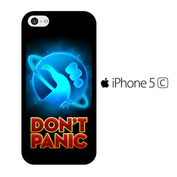 Hitchhiker's Guide To The Galaxy Dont Panic iPhone 5C Case